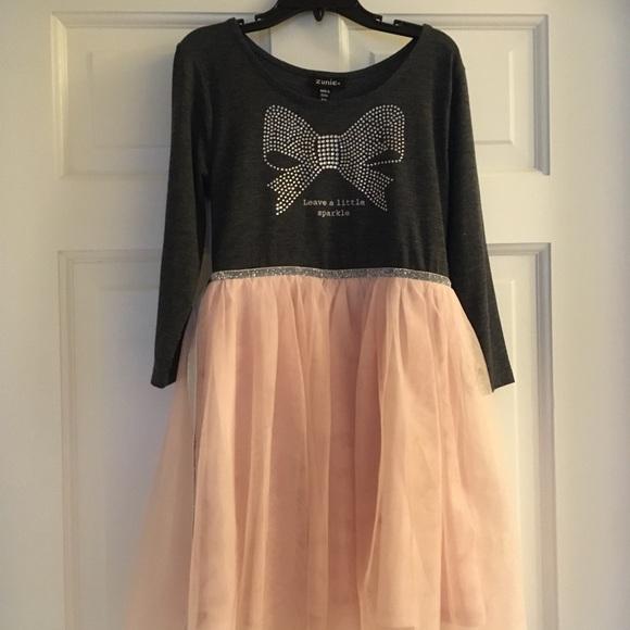 Zunie Sparkle Dress with Tutu Skirt